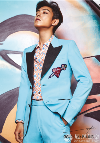BIGBANG成员T.O.P崔胜铉首登中国杂志 封面曝光